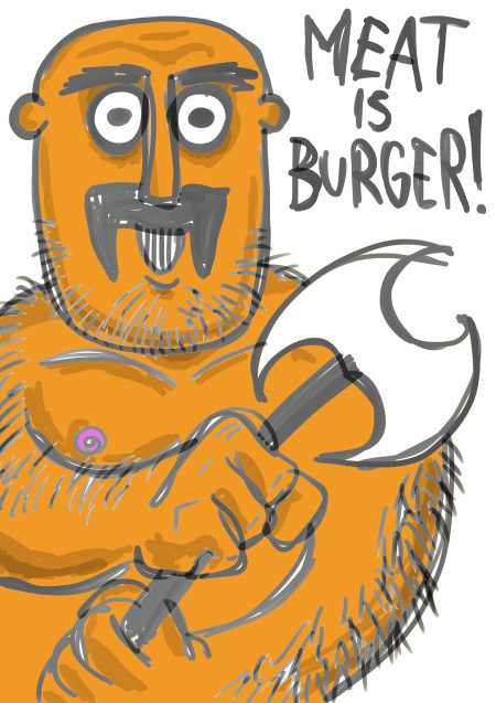 meat is burger 0.2